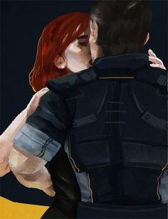 FemShep and a Half Mass Effect Quotes, Mass Effect Romance, Mass Effect 1, Kaidan Alenko, Commander Shepard, Brave Girl, First Humans, Dragon Age, Fangirl