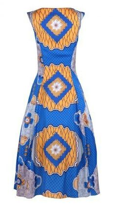 Elegant dress available in all sizes, and comes in different colors and prints!