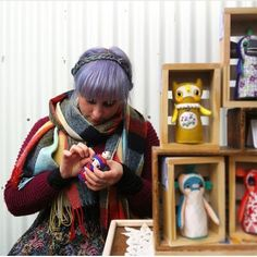 "Great post from @therosestmarket of me sewing away at my stall yesterday (which is generally what I'm doing if I'm not eating..) 😅 Thanks guys! ----------------------------------- ""The lovely @hannakinart working on a new art doll at the market today. See Hanna and her creations on Saturdays at the market.👌"" #rosestmarket #fitzroy #melbournemarkets #melbourneshopping #melbournetodo #handmade #handsewn #melbournemade #doll #dolls #artdoll #hannakin #makersgonnamake #wip #artist"