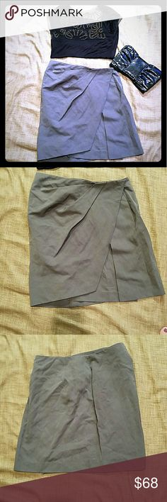 Phillip Lim Seal Grey Wrap Skirt NWT Gorgeous skirt ready for fall. 3.1 Phillip Lim Skirts Midi