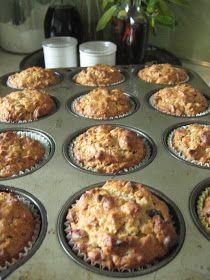Honey Oatmeal Muffins