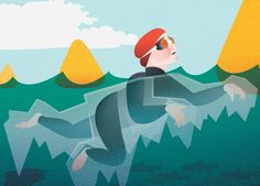 Advice for avoiding panic attacks and other perceived perils of open-water swimming.