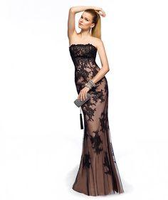 Pronovias te presenta su vestido de fiesta Zingara de la colección Largos 2013. | Pronovias