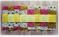 Bees Wrap, Lots, Food Containers, Food Packaging, Wraps, France, Couture, Pure Products, Fabric
