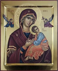 Religious Pictures, Religious Icons, Religious Art, Our Lady Of Rosary, Faith Of Our Fathers, Haitian Art, Queen Of Heaven, Byzantine Icons, Blessed Virgin Mary