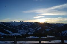 #sundowner #Hochkönig #Abendstimmung #Dienten #Vital Hotel Post Vital Hotel, Mount Everest, Poster, Mountains, Nature, Travel, Sunset, Naturaleza, Viajes