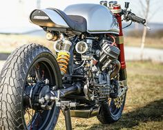 HONDA CX500 CAFE RACER PROJECT BY SACHA LAKIC