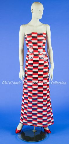 Blog of the Historic Costume & Textiles Collection, Ohio State University Clothes Lines, Ohio State University, Librarians, Strapless Dress, Vintage Fashion, Collections, Textiles, Costumes, Blog