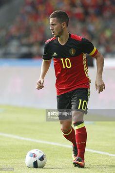 Eden Hazard of Belgium during the International friendly match between Belgium and Finland on June 5, 2016 at the Koning Boudewijn stadium in Brussels, Belgium.