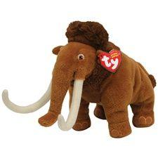 e3d3375122d Rare Ty Beanie Bables - Ty Beanie Babies Ice Age Manny Ty Stuffed Animals