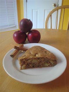 apple cake -not too sweet