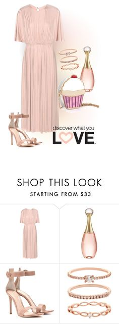 """""""How to Wear: Ice-cream Cross-body Bag"""" by nansy393 on Polyvore featuring мода, Valentino, Christian Dior, Gianvito Rossi и Accessorize"""