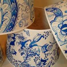 Hand Painted Lampshades
