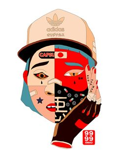 Xmau ilustra un Tokio futurista