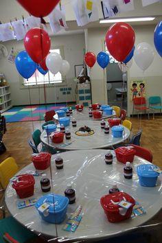 Festa na escola