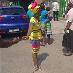 Venda Traditional Attire, Sepedi Traditional Dresses, African Fashion Traditional, Traditional Wedding, Xhosa Attire, African Attire, African Wear, African Women, African Print Dresses