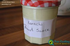 The famous Karachi broast sauce which you find in boat besan Karachi broast resturant Pakistan. Same garlic yummy flavour and thick consistency.