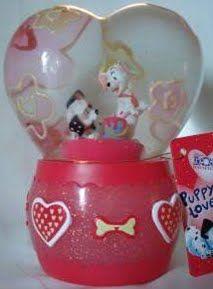 Disney 101 Dalmations Valentines Snowglobe
