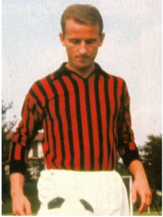 Giovanni Trapattoni as a player for AC Milan