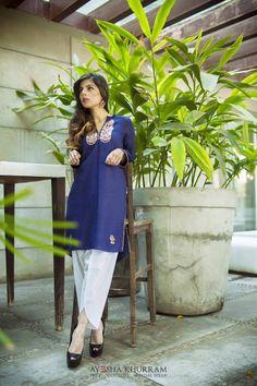 Ayesha Khurram Semi-Formal Summer Dresses Collection 2016