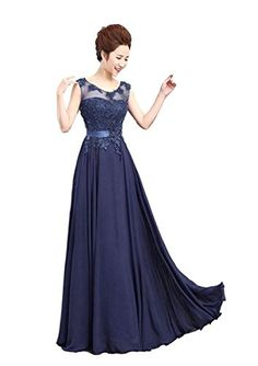 See new offer for Edaier Women s Beaded Lace Formal Evening Dress Prom Gown.  from amazon.com 409688d3e