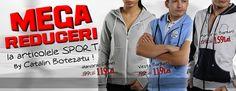 Reduceri de pana la 40% la articolele sport by CATALIN BOTEZATU