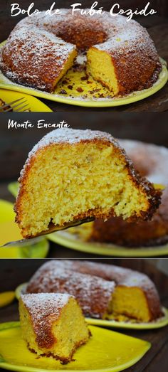 Bolo de Fubá Cozido, muito mais leve! Sem dúvida nenhuma, de todas as receitas de bolo de fubá cozido, esta é a minha preferida. O fubá é cozido antes e …