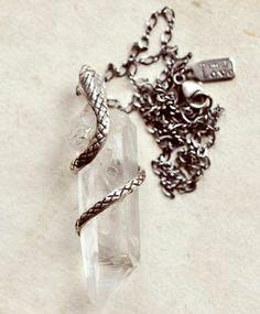 Crystal Cobra Necklace - Pamela Love