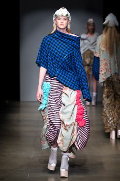 THIS GRADUATE SHOULD FAIL!!! Winchester School of Art graduate collection