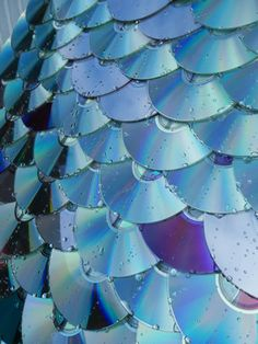 Roofing made from Recycled CDs | Recycle your CDs and DVDs