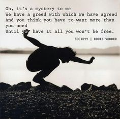 Society by Eddie Vedder