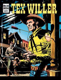 Tex Willer -lehti no 16/2014. #sarjakuva #sarjis #sarjakuvalehti #egmont