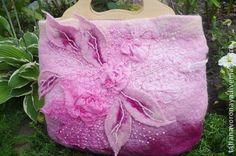 """Женские сумки ручной работы. Ярмарка Мастеров - ручная работа. Купить Сумка """"Розовое облако"""". Handmade. Розовый, бисер"""
