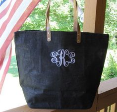 Hey, I found this really awesome Etsy listing at https://www.etsy.com/listing/120006063/monogrammed-personalized-black-large