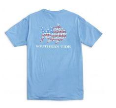 Southern Tide Skipjack Flag T-Shirt