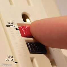 Check GFCI in panel. Before You Call an Electrician
