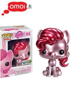My Little Pony: Pinkie Pie figuuri (Exclusive Metallic) - 14,00EUR : Omoi.fi, anime, manga ja cult oheistuotteiden verkkokauppa