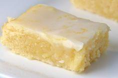 Brownies de limão