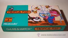 TROPICAL FISH Nintendo GAME WATCH G&W NUEVA a Estrenar