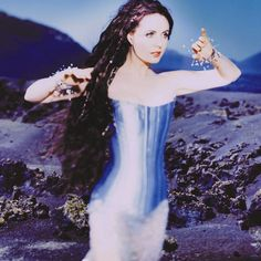 Sarah Brightman; voice of an angel and really nice hair