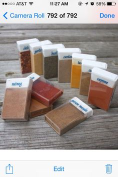 Use Empty Tic Tac Containers To Store Spices✨