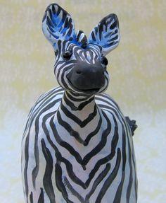 Fat Zebra by KarenFincannon on Etsy,