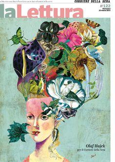 Cover for LA LETTURA; Corriere della Sera