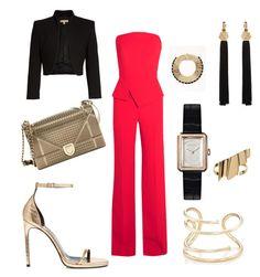 Designer Clothes, Shoes & Bags for Women Jennifer Fisher, Roland Mouret, Christian Dior, Yves Saint Laurent, Chanel, Michael Kors, Shoe Bag, Polyvore, Stuff To Buy