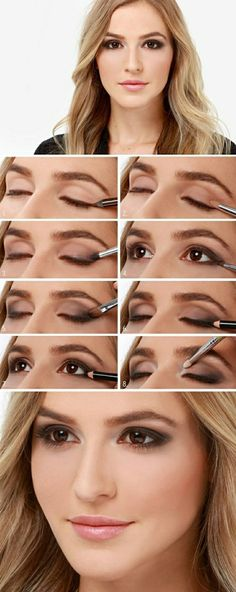 Astuces maquillage facile yeux marrons