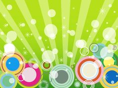 Background With Circles vector free