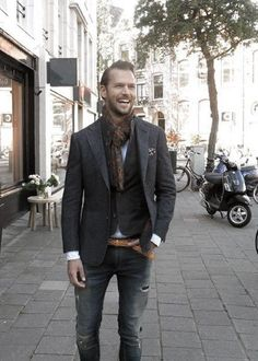 Casual Wear For Men - 90 Masculine Outfits And Looks 1950s Jacket Mens, Cargo Jacket Mens, Bomber Jacket, Suit Jacket, Grey Blazer Outfit, Man Outfit, Business Casual Jacket, British Style Men, Leather Jackets Online