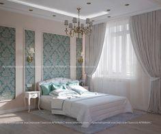 Дизайн-проект в двухкомнатной квартире Жилой комплекс (ЖК) Лазурный берег Одесса Архимас