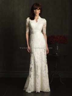 be0af6d5e5 Discover the Allure Modest Bridal Gown. Find exceptional Allure Modest  Bridal Gowns at The Wedding Shoppe