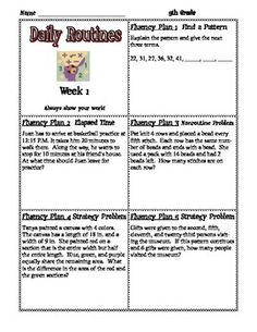 This Is A Template Designed To Plan Individual Lessons Using The